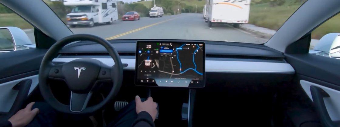 Imagem de: Tesla: direção autônoma será testada por motoristas comportados