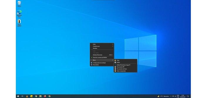 Windows 10 Floating Menu