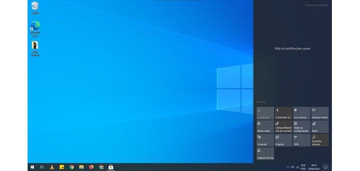Windows 10 Notification Center