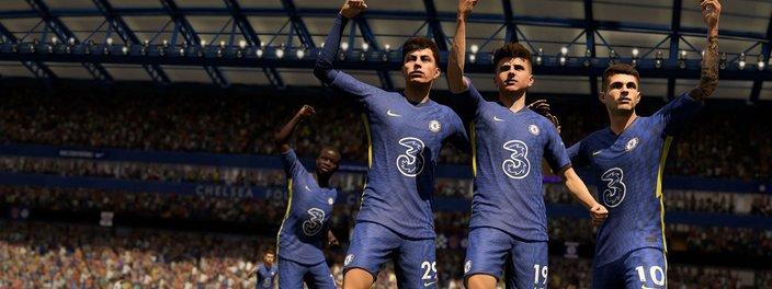 Imagem de: FIFA 22 melhora jogabilidade e surpreende na diversão