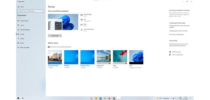 Windows 11 theme can be disabled later