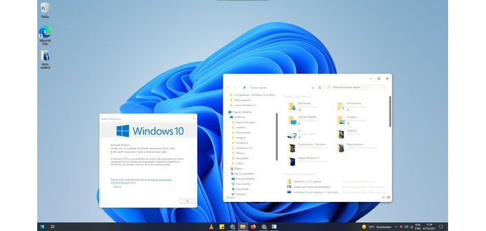 Theme rounds the edges of windows